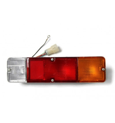 Rear right tail light, round plug, Suzuki, Santana, Samurai
