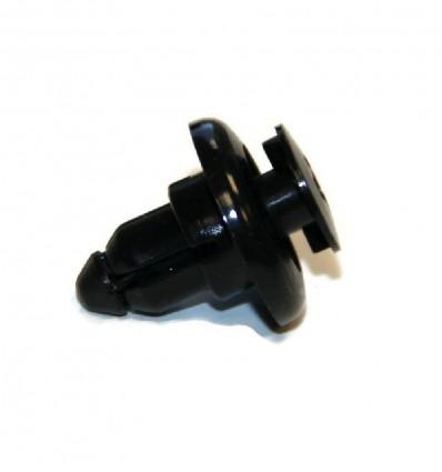 Bumper fastening rivet, plastic, Suzuki santana Samurai, post 1998
