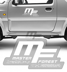 Sticker MF 25 x 50 blanc