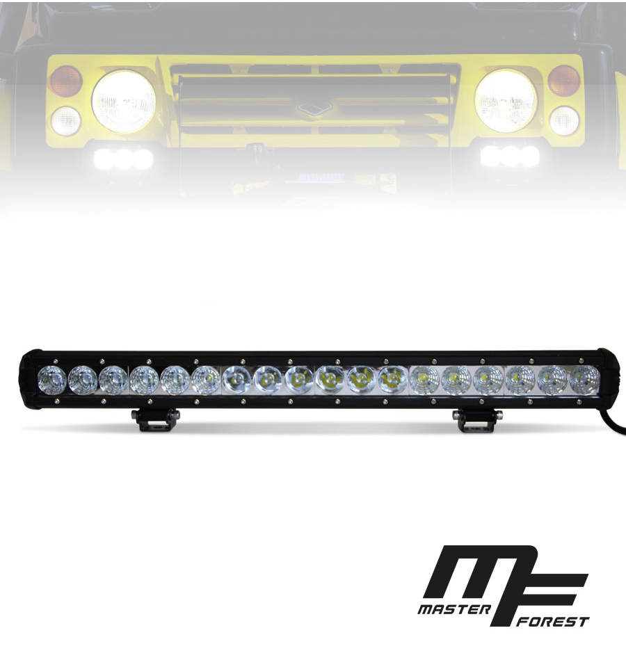 led bar 54w spot 20 mf masterforest pi ces d tach es et accessoires 4x4 suzuki et santana. Black Bedroom Furniture Sets. Home Design Ideas