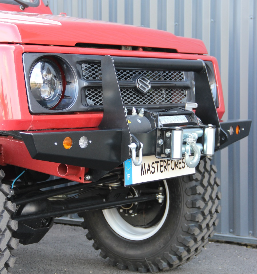 front off-road bumper 1 mf suzuki santana samurai - masterforest