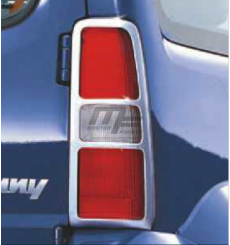 Grilles de feux arrières chromées Suzuki Jimny