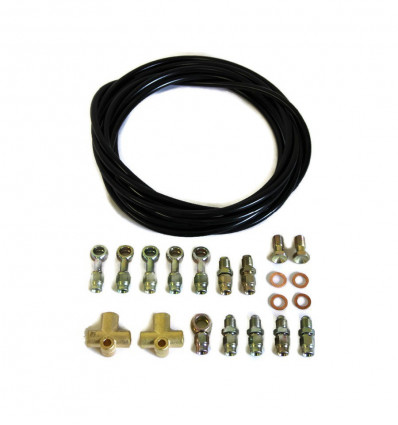 Hydraulic parking brake flexible kit, Suzuki Santana Samurai (japanese build).