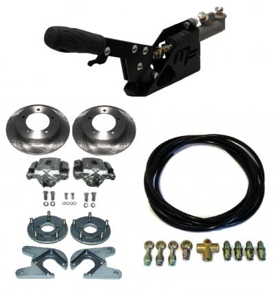 Kit complet frein de parking + freins à disques arrière + flexibles Samurai Espagnol