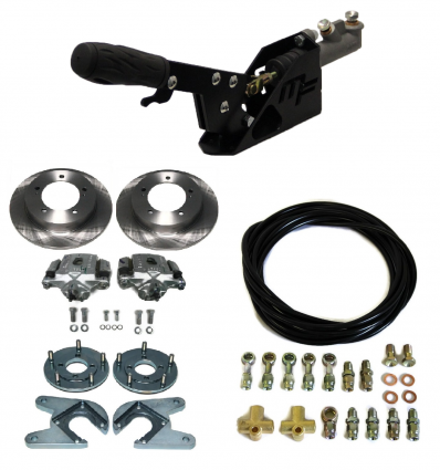 Kit complet frein de parking + freins à disques arrière + flexibles Samurai Japonais