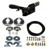 Complete kit: parking brake + rear discs brakes + flexibles, Suzuki Santana Samurai 410, 413, japanese build