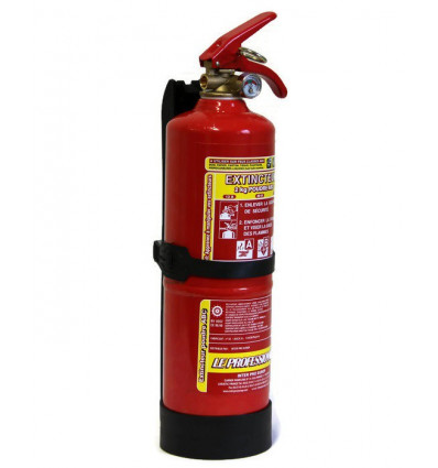 Fire extinguisher, 2kg, dry-powder, ABC