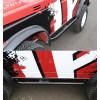 オフロードの車体の下の保護ガード、MF、スズキ・サンタナ・サムライ