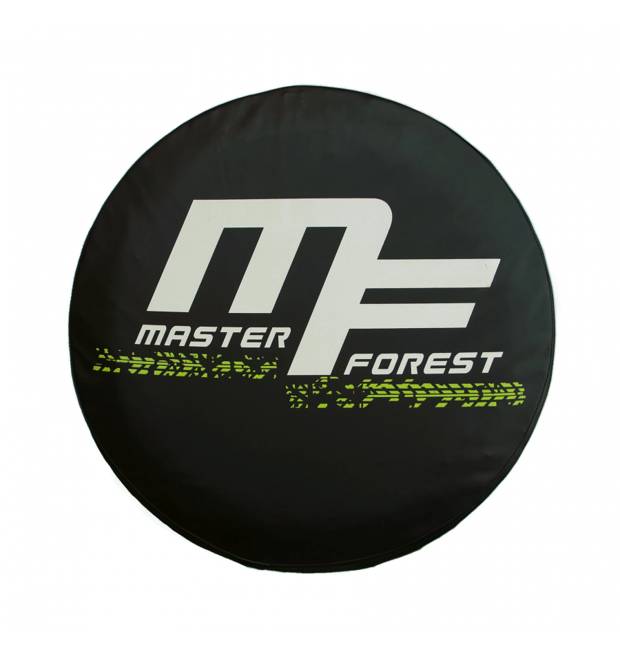 spare tire cover mf 15 pouces masterforest pi ces d tach es et accessoires 4x4 suzuki et santana. Black Bedroom Furniture Sets. Home Design Ideas