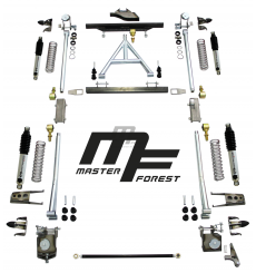 Kit suspension MF à ressort helicoidal +10 cm souple 4x4 Suzuki Santana Samurai