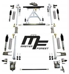 Kit suspension MF à ressort helicoidal +10 cm standard 4x4 Suzuki Santana Samurai