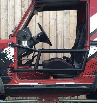2 tubular half-doors kit, Suzuki Samurai