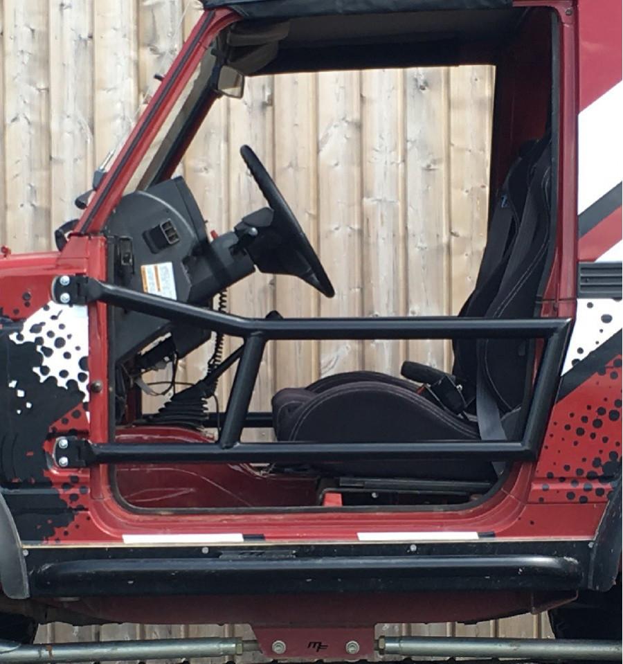 Tubular Half Doors Kit Suzuki Samurai