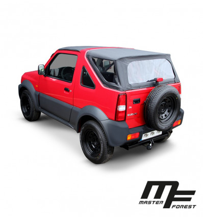 MK2 黒いソフト・トップ、スズキ・ジムニー四輪駆動