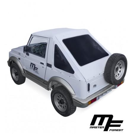 Bâche MF Fastback blanche 4X4 Suzuki Santana Samurai