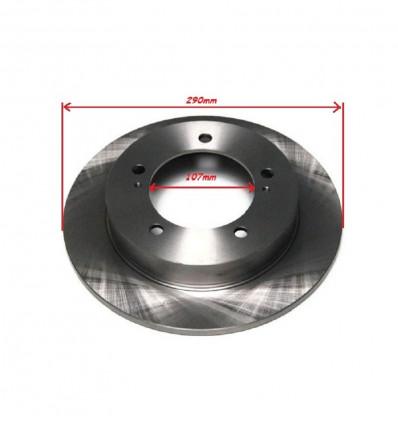 フロントブレーキディスク(2つ)、換気ない、107mm、スズキ・サンタナ・ビターラ