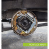 Rear brake kit, top build, Suzuki Santana Samurai