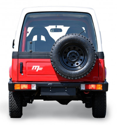Hard top rear windscreen, Suzuki Santana Samurai