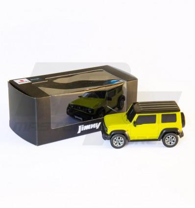 Miniature Suzuki Jimny kinetic yellow