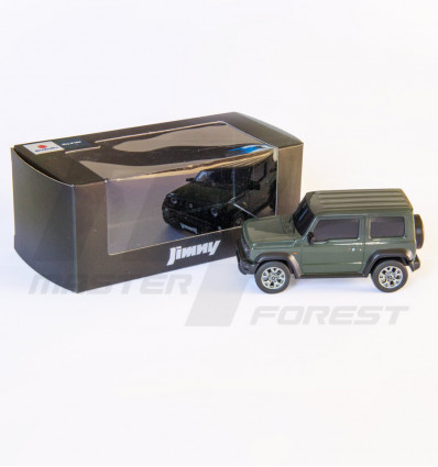 Miniature Suzuki Jimny jungle green