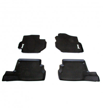 Rubber car mat, Suzuki Jimny with an automatic gearbox
