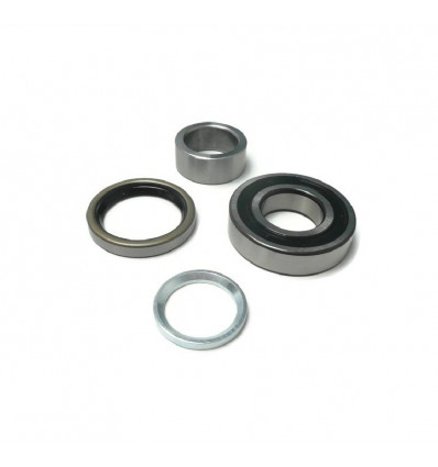 Enhanced roller bearing for rear wheel, Suzuki Santana Samurai