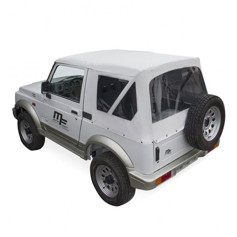 Bâche MF blanche 4X4 Suzuki Santana Samurai