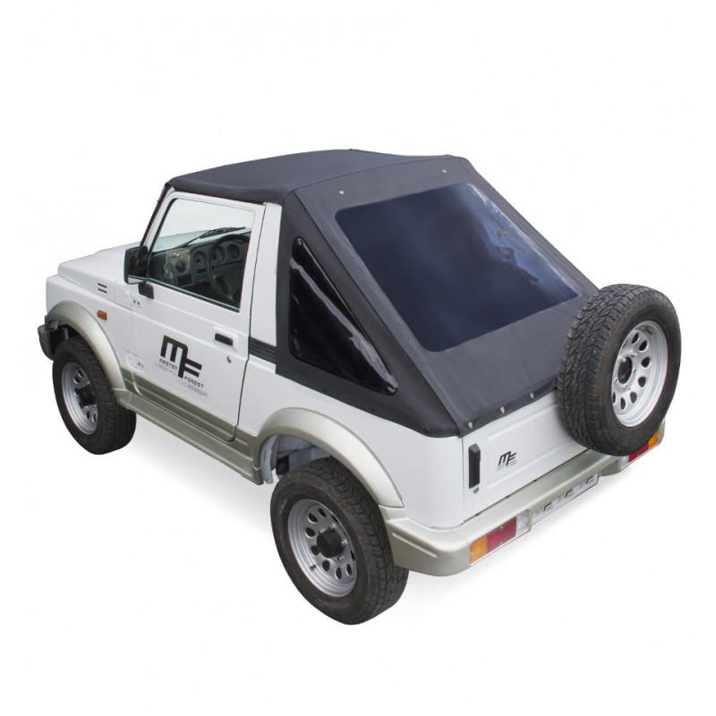Bâche MF Fastback noire 4X4 Suzuki Santana Samurai
