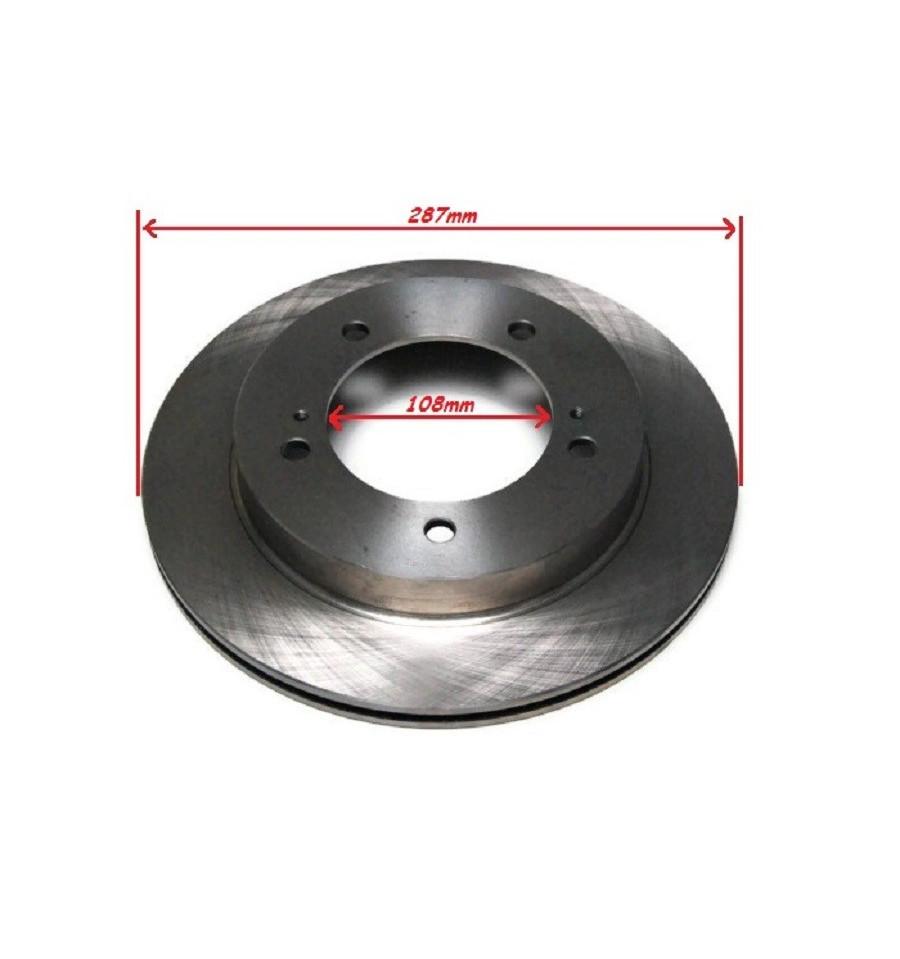 2 disques de frein avant ventil 108mm suzuki jimny masterforest pi ces d tach es et. Black Bedroom Furniture Sets. Home Design Ideas