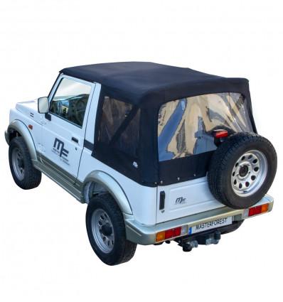 Bâche Premium noire MF 4X4 Suzuki Santana Samurai
