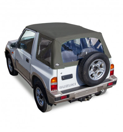 MF Premium black soft-top, Suzuki Santana Samurai 4WD