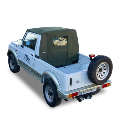 Bâche Pickup kaki Premium MF 4X4 Suzuki Santana Samurai
