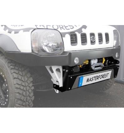 Low off-road front bumper 1, MF, Suzuki Jimny