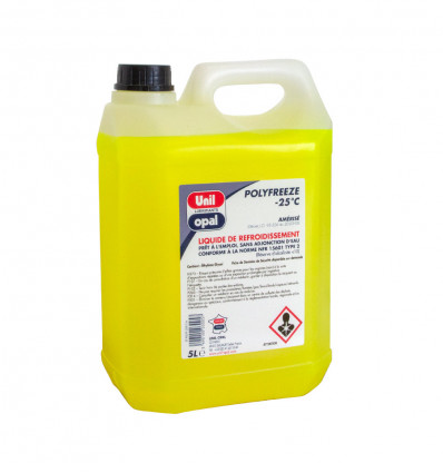 Polyfreeze engine coolant, -25°C, 5L, Unil Opal