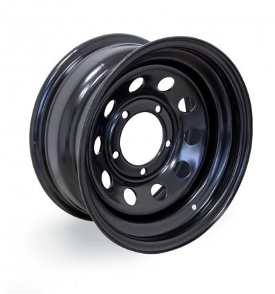 Modular ( モジュラー)車輪リム、黒、7x15''、スズキ・サンタナ四輪駆動