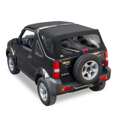 Bâche noire Premium MF 4X4 Suzuki Santana Jimny
