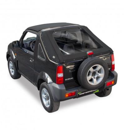 Bâche fastback noire Premium MF 4X4 Suzuki Santana Jimny