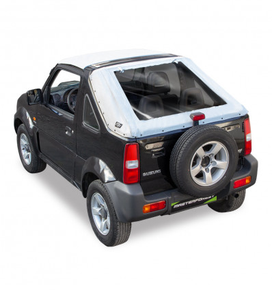 Bâche fastback blanche Premium MF 4X4 Suzuki Santana Jimny