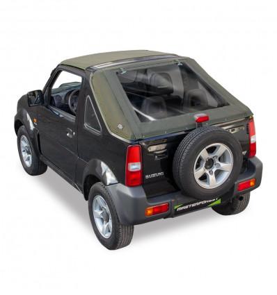 Bâche fastback kaki Premium MF 4X4 Suzuki Santana Jimny