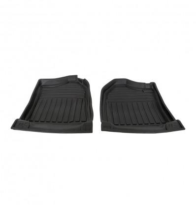 2 MF floor mats, front, raised sides, Suzuki Santana Samurai