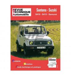 Revue technique Suzuki Santana Samurai 410 et 413