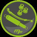 Leaf spring suspension kit